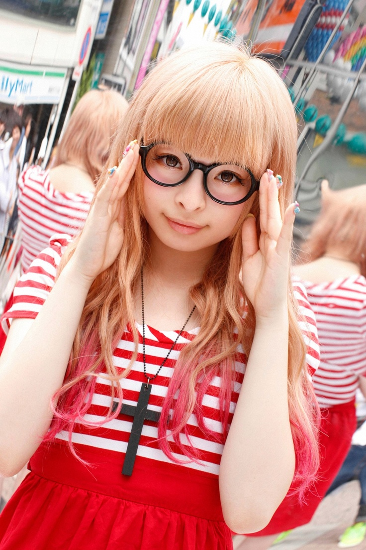 Kyary : Arale style LOL