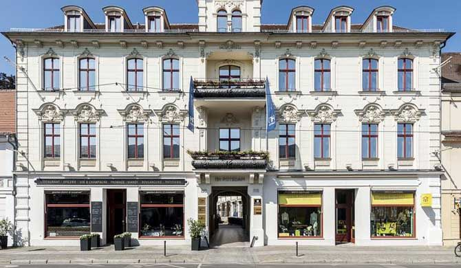 NH Potsdam The NH Potsdam hotel, formerly known as NH Voltaire Potsdam, is a beautiful historically protected building made up of the Bruhl Palais that dates back to the 19th century and a newer building from... #Hotels  #Travel #Backpackers #Accommodation #Budget