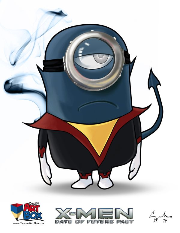 X-Minions Day of Future Past Mashup Art (3)