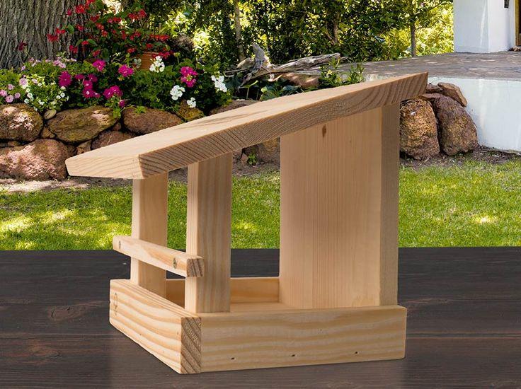 die besten 25 vogelfutterhaus selber bauen ideen auf pinterest vogelfutterhaus bauen. Black Bedroom Furniture Sets. Home Design Ideas