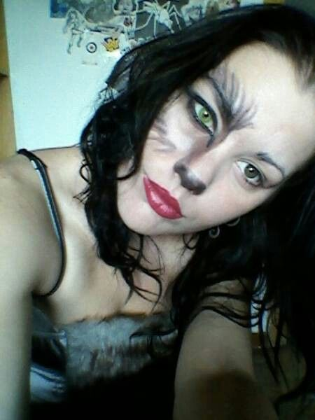 Big bad wolf face paint