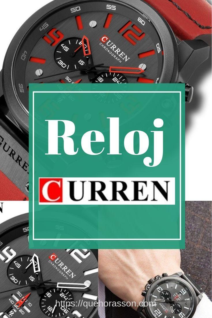 Relojes Chinos Curren Cuarzo Casual Para Hombre Reloj Deportivo De Moda Para Hombre Comprar Reloj Curren En Aliexpress Desde Nuestro Catalogo Quehorasson Com Moda Hombre Relojes Chinos Reloj