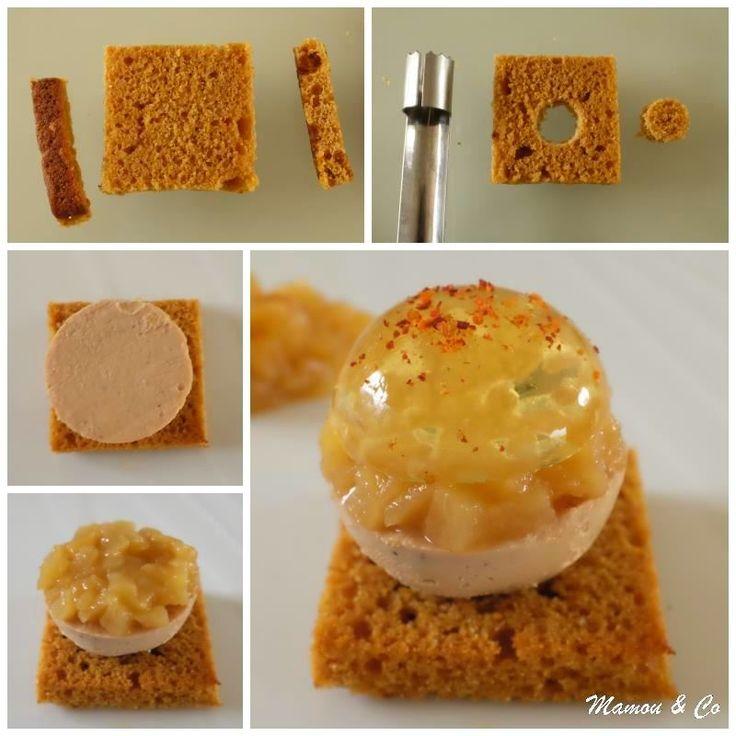 Boule de foie gras, gelée de Sauternes et brunoise de poires_4_1