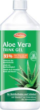 Für Wohlbefinden und Schönheit: Schaebens Aloe Vera Trink Gel enthält Aloe Vera Gel aus dem reinen Blattfilet sowie die B-Vitamine Niacin und Biotin. Vitam...