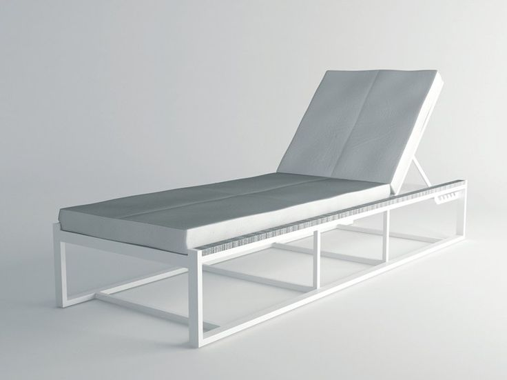 Recliner aluminium garden daybed DAYTONA Collection by 10Deka