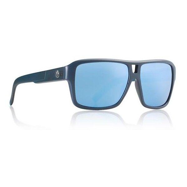Dragon Alliance DR THE JAM H2O 414 Sunglasses (545 BRL) ❤ liked on Polyvore featuring accessories, eyewear, sunglasses, dark blue, aviator sunglasses, plastic lens glasses, dragon alliance sunglasses, aviator style glasses and unisex glasses