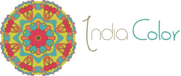 Logo evento India Color, Ripley Chile. www.isabelcerda.com