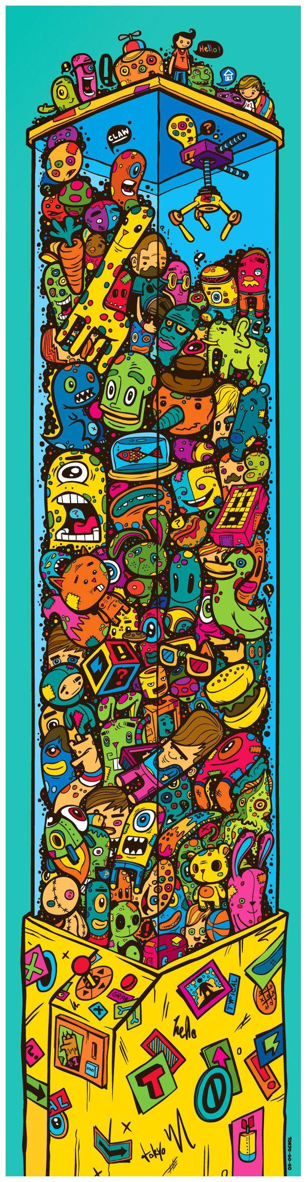 Illustrations 2011 by Greg Darroll , via Behance