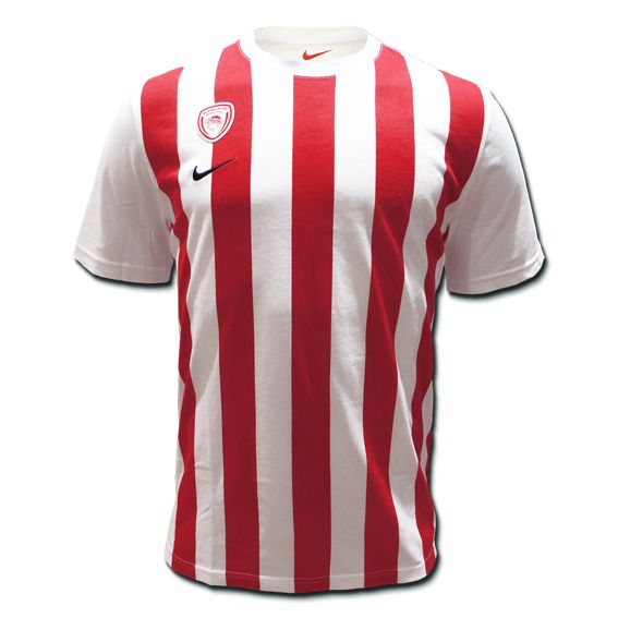 T-Shirt Nike Olympiacos BC Compete Striped TEE