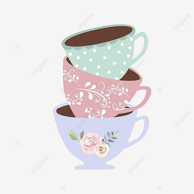 Tea Cups Illustration Tea Cup Clipart Tea Cup Tea Party Png And Vector With Transparent Background For Free Download In 2021 Tea Cups Tea Illustration Tea Party