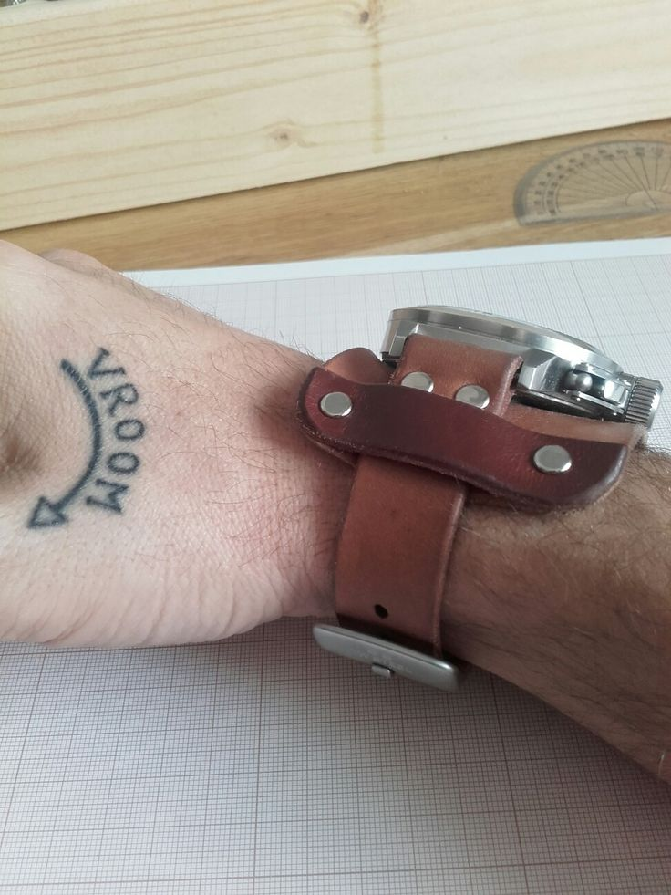 Watch belt.pasek do zegarka.handmade