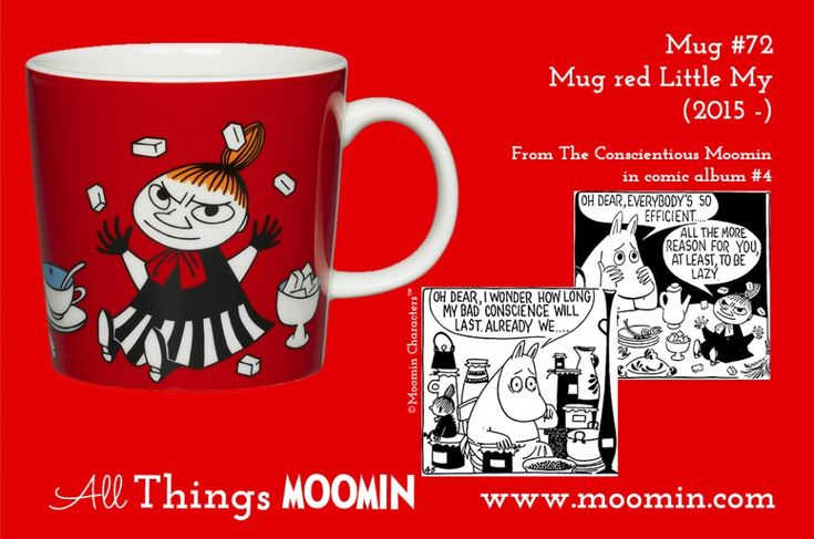 72 Moomin mug Little My
