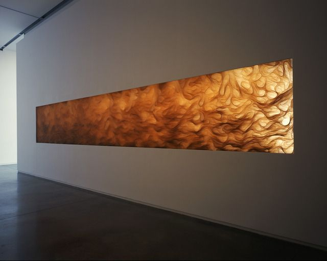 Tara Donovan, courtesy Pace Gallery  ::  polyester film, installation dimensions variable, 2008 / Photo by Dennis Cowley