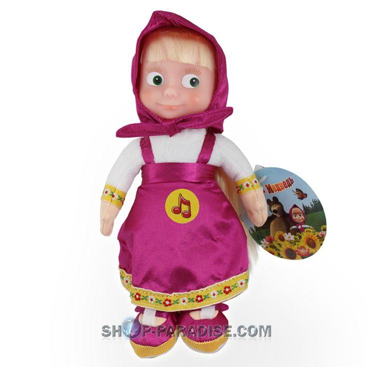 SHOP-PARADISE.COM Маша мягкая игрушка из мультика маша и медведь 22 см поёт и говорит 17,64 € http://shop-paradise.com/ru/mjagkaja-igruschka-mascha-iz-multi-pulti-mascha-i-medved-22-smpojot-i-govorit