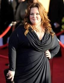 """""""Because you almost never get to see someone be fat and awesome on TV or in the movies. In real life, this happens all the time. Your life, undoubtedly, is full of fat, awesome people."""" --from Rainbow Rowell's column """"Why it matters (and doesn't) that Melissa McCarthy is fat"""""""