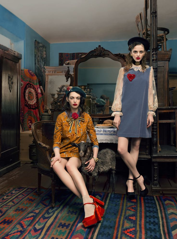 "Muse and violin PHOTOGRAPHER: ANDREY YAKOVLEV Art director: LILI ALEEVA MODELS: ANISIA, RISHA (ABA models) MUAH:PAVEL NATSEVICH STYLE: HANNA YATSKO, RUSLAN SHAKUROV For collection Hanna Yatsko ""For Chagal"""