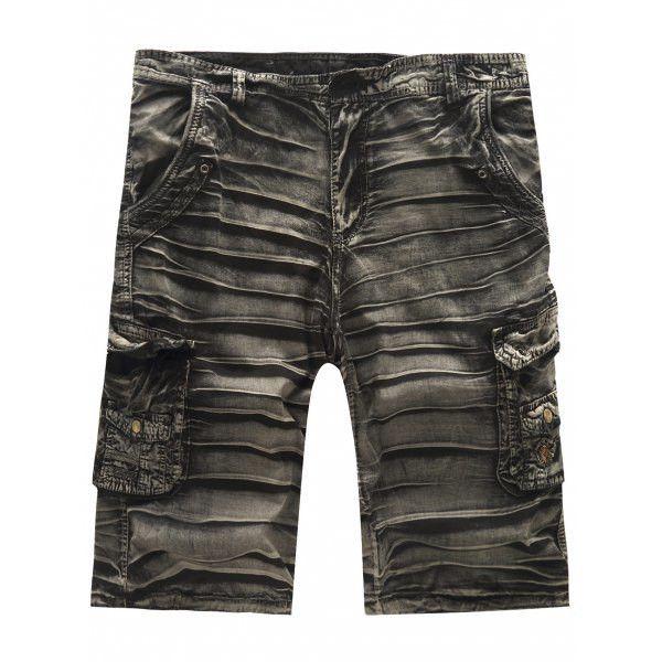 Hot Sale Multi-Pockets Cargo Shorts For Men