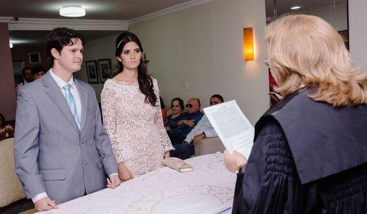 Casamento civil no cartório