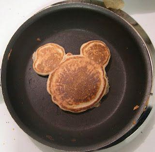 Panquecas de Mickey Mouse
