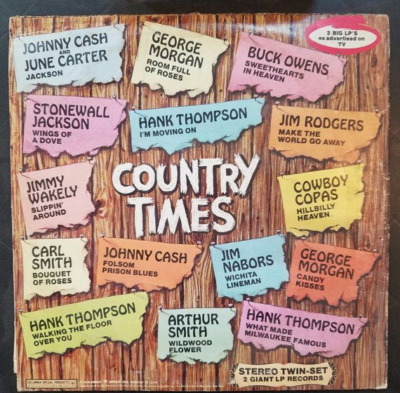 Country Times Vinyl LP Record by GrampasUsedBooks on Etsy