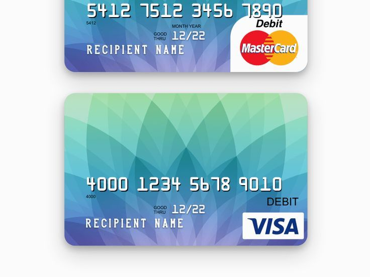 Credit Card Template More With Images