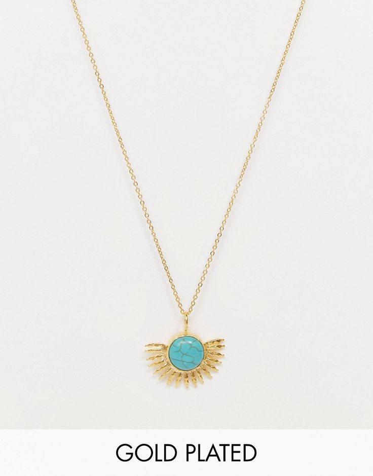 Bild 1 von Ottoman Hands – Turquoise Sun – Halskette