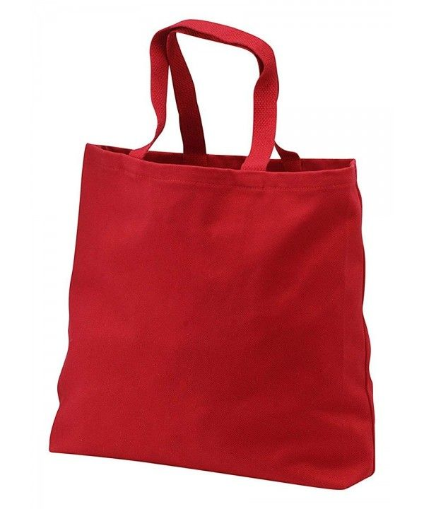 Port   Company Web Handles Durable Oversized Jumbo Tote - Red ... 59c1c633eb177