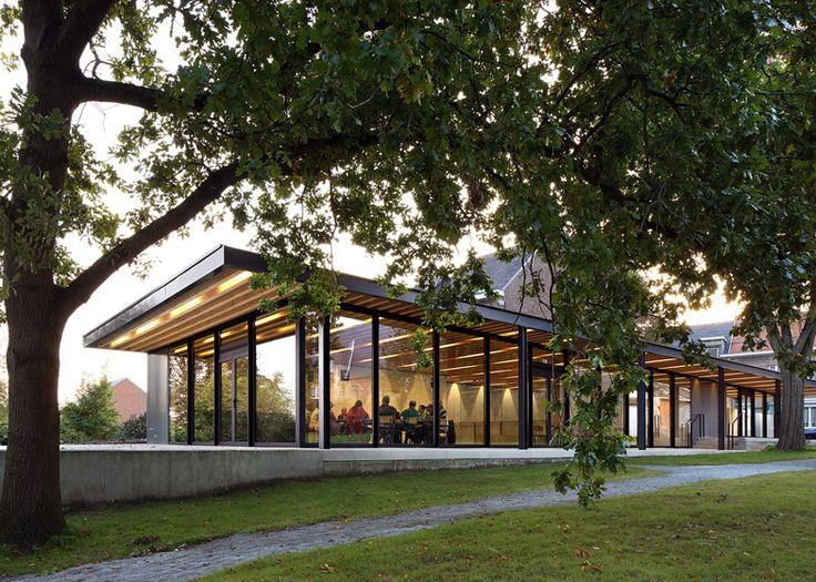 Centro Comunitario, Moorsel, Bélgica - De Kort Van Schaik/Van Noten - © Filip Dujardin