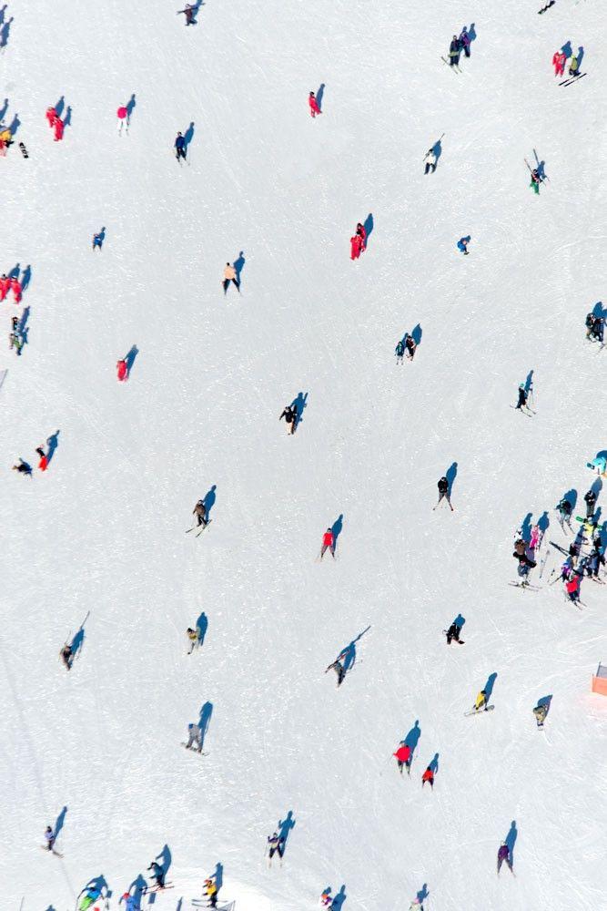 Lake Tahoe Skiers