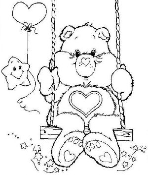 Dibujos animados de los osos amorosos