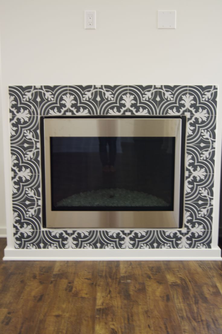 25 Best Ideas About Mosaic Fireplace On Pinterest