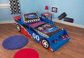 Hitverdächtiges Kinderbett von KidKraft - Modell Rennwagen