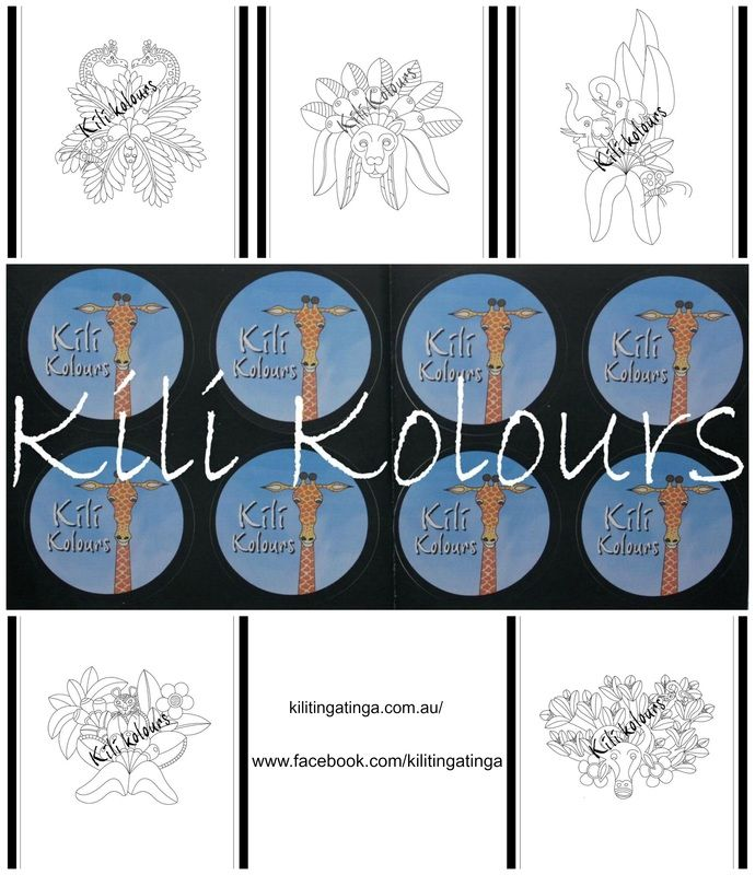 For all full priced children's items purchased collect your Kili Kolours                                                                colouring in card and a Mr.G.Raff sticker!                                             There are 5 Colouring cards to collect                                              Coming soon more Mr.G.Raff Stickers!