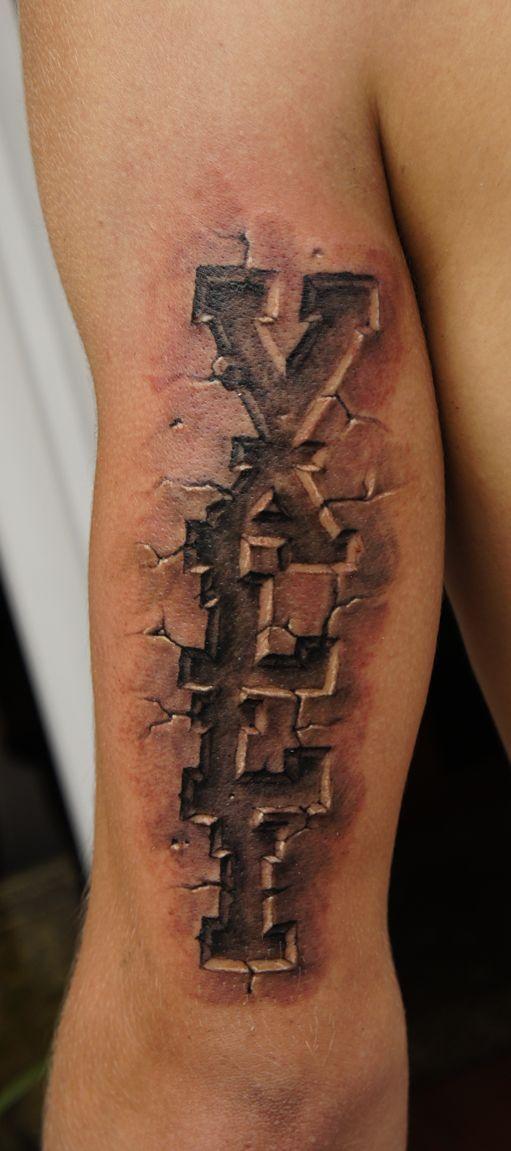 tattoo stone tattoo tattoo lettering pedra stone artie tattooz stones ...