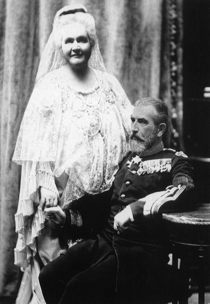 King Carol I of Romania and Queen Elisabeth