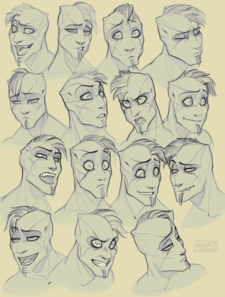 If Scar From The Lion King Was A Human Drawing Cartoon Faces