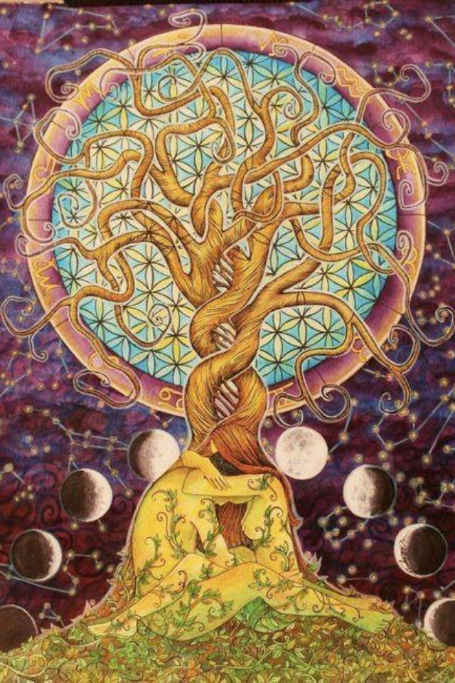 Twin Souls, Cosmic Union, Tree of Life | [love is...] | Pinterest