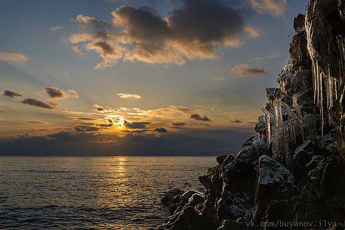 Фотограф Илья Буянов (Ilya Buyanov) - Байкал, вечер. #1520454. 35PHOTO