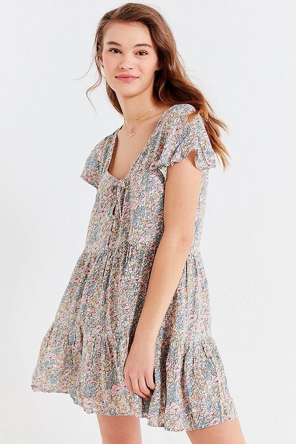 7ea1d64a Auguste The Label Frankie Babydoll Mini Dress | Wear | Dresses, Baby ...