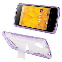 Funda Nexus 5 - Sline con Stand Violeta  € 7,99