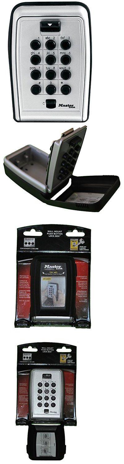 Hide-a-Keys 115945: Master Lock 5423D Push Button Wall Mount Key Safe -> BUY IT NOW ONLY: $30.92 on eBay!