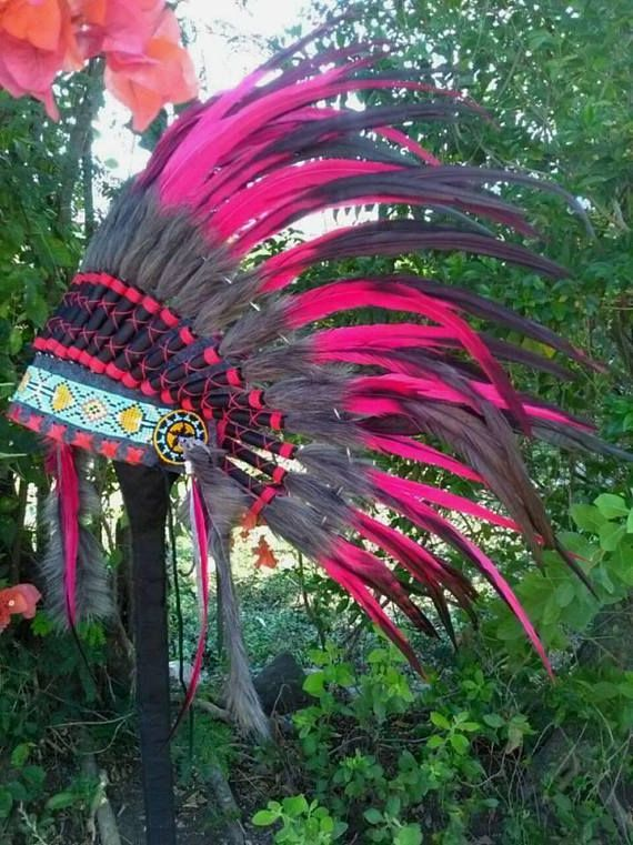 Kids Native American inspired Headdress Kids Indian style