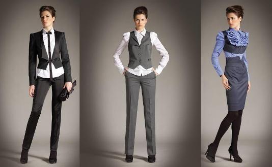 Модные женские стильные костюмы для офиса фото