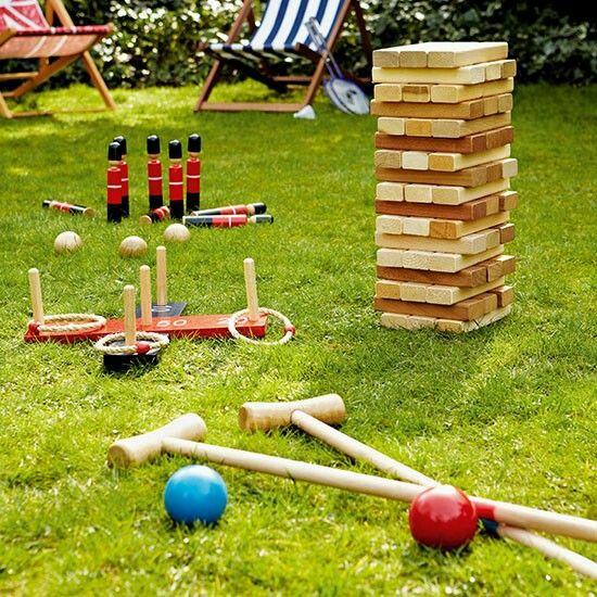 Outdoor games Outdoor and Garden Ideas Pinterest
