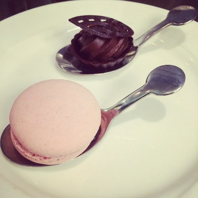 Pink macaron and chocolate | High tea with the girls | Sheraton on the Park Sydney