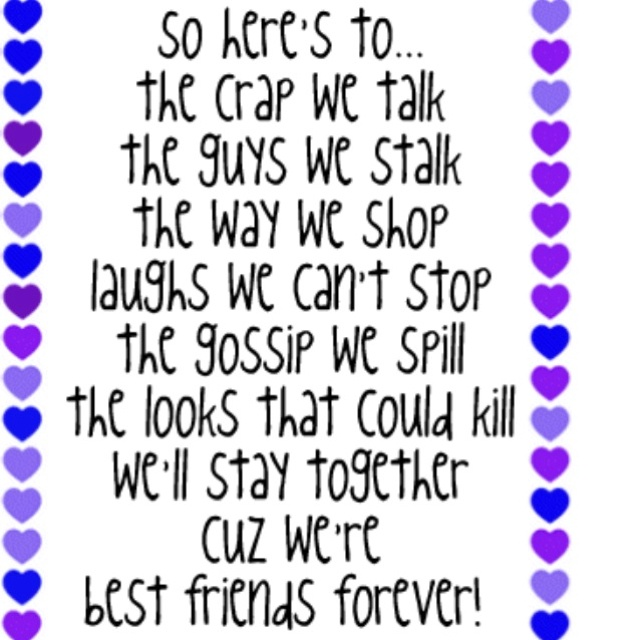 Did We Just Become Best Friends Full Quote: 61 Best ODE TO FRIENDSHIP Images On Pinterest