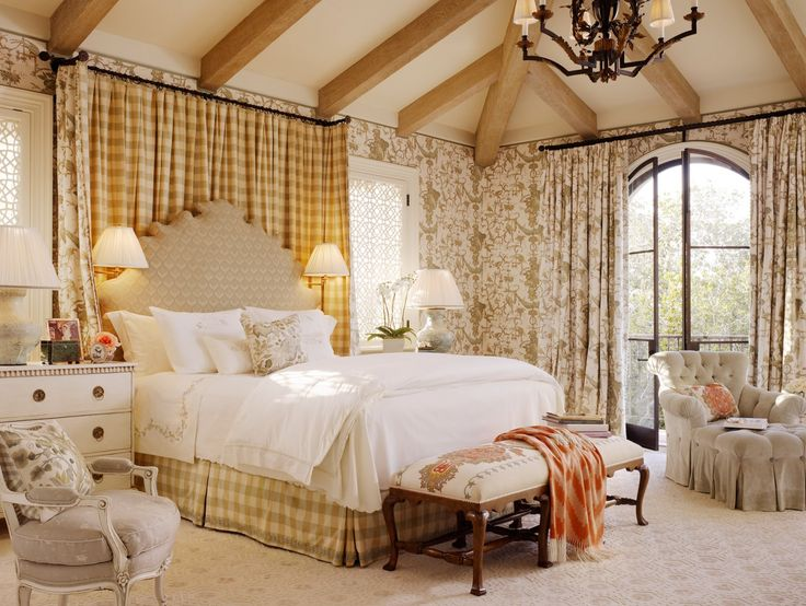 bedroom cream country style bedroom decorating ideas with large