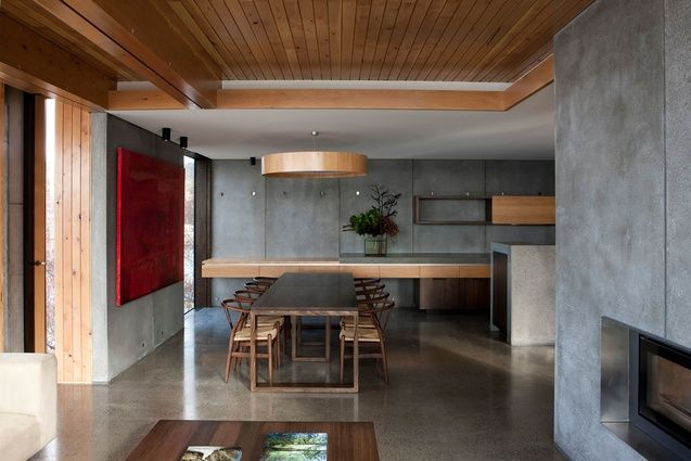 Napoleon St House by Maria Gigney Architects. The main living space.