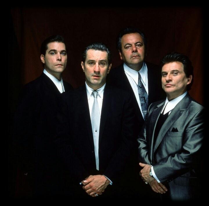 Good Fellas (Ray Liotta, Robert DeNiro, Paul Sorvino, & Joe Pesci)