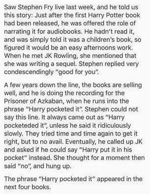 Oh my gosh, I love this. Don't mess with the Queen. JK Rowling. Harry Potter. Audio Books.